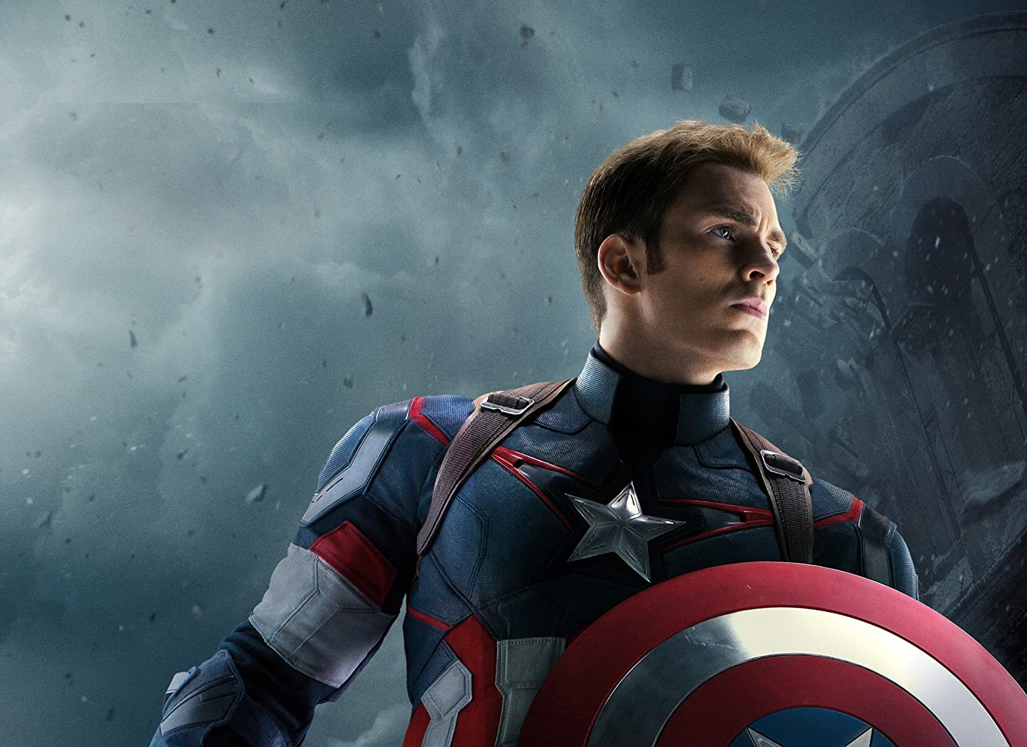 Posterhub Movie Avengers Age Of Ultron Chris Evans Captain America Hd Wall Poster Paper Multicolour Amazon In Home Kitchen