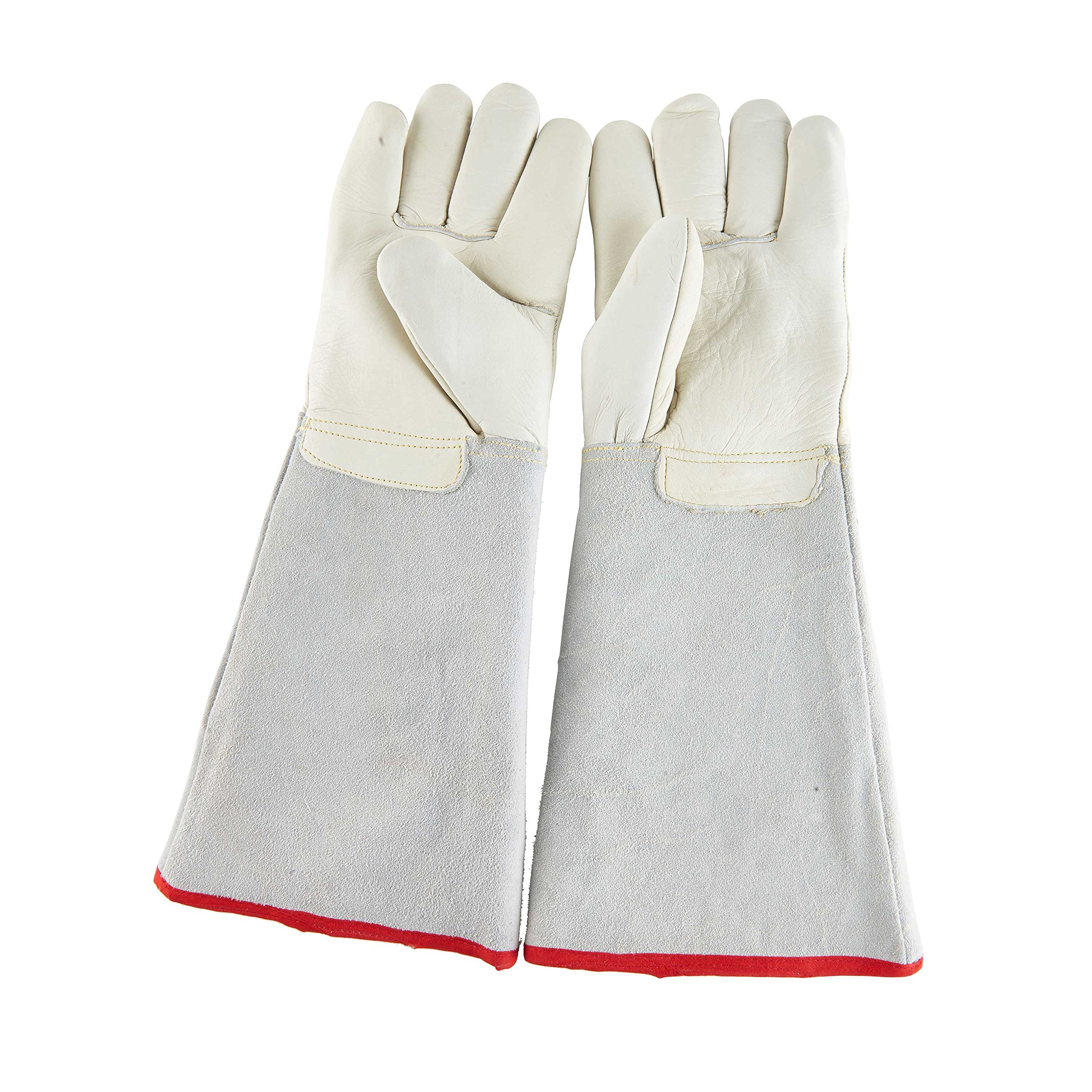 Ultra Long Cryogenic Gloves Waterproof Protective Gloves Liquid Nitrogen Frozen Gloves Cold Storage 17.72''