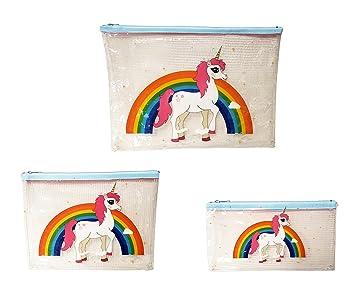 Amazon.com: Unicornio y arcoíris transparente transparente ...