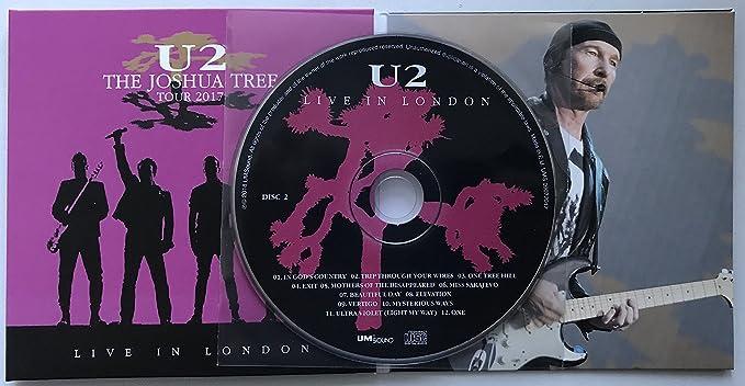 U2 LIVE IN LONDON 2017 2nd Night The Joshua Tree Tour