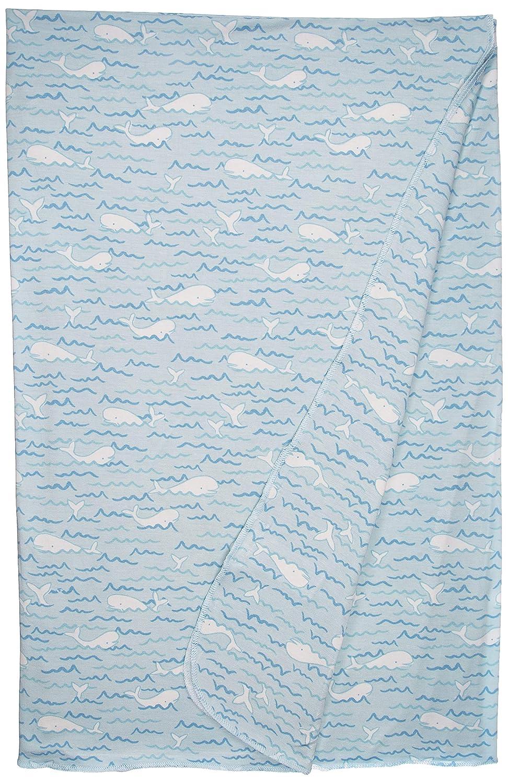 Angel Dear Baby Beluga- Bamboo Fiber Knit Swaddle Blanket