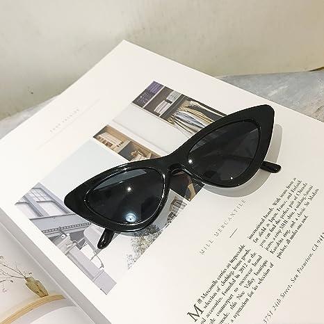 VVIIYJ Gafas de sol de Hip Hop Gafas de sol de ojo de gato ...