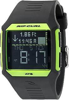 Rip Curl Mens A1119-FGR Rifles Tide Digital Display Quartz Black Watch