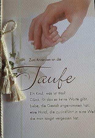 Tarjeta de felicitación para bautismo - Padrino Carta - para recuerdo de El bautizo - T017: Amazon.es: Oficina y papelería
