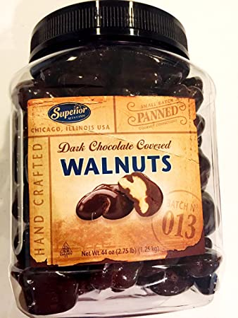 Dark Chocolate Covered Walnuts Superior