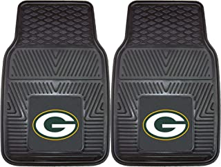"product image for FANMATS - 8756 NFL Green Bay Packers Vinyl Heavy Duty Car Mat , 18""x27"""