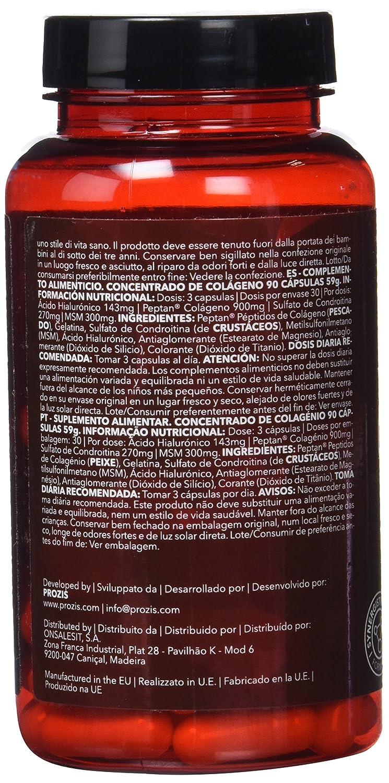 Prozis Concentrado de Colágeno - 90 Cápsulas: Amazon.es: Salud y cuidado personal