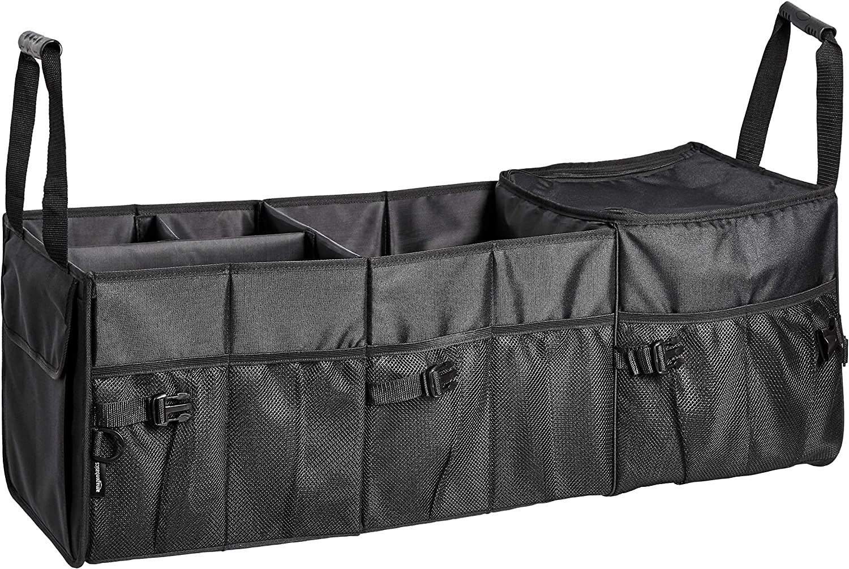 Basics Organiseur de coffre de voiture avec sac isotherme et compartiment ajustable