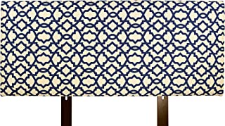product image for MJL Furniture Designs Alice Padded Bedroom Headboard Contemporary Styled Bedroom Décor, Sheffield Series Headboard, Indigo Finish, Full Sized, USA Made