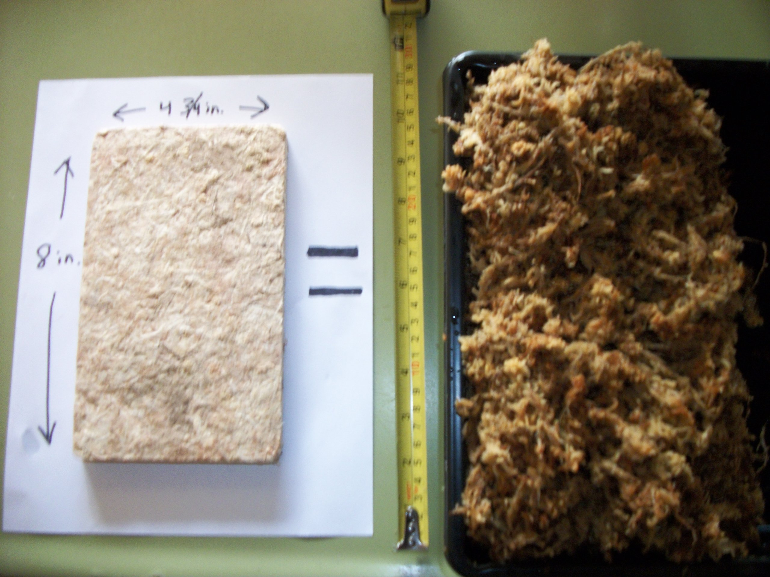 3.2 oz of Super Compressed New Zealand Sphagnum Moss