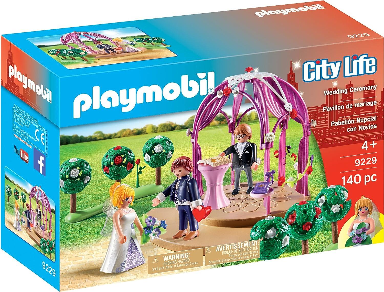 Playmobil-9229 Pabellón Nupcial con Novios, única (9229)