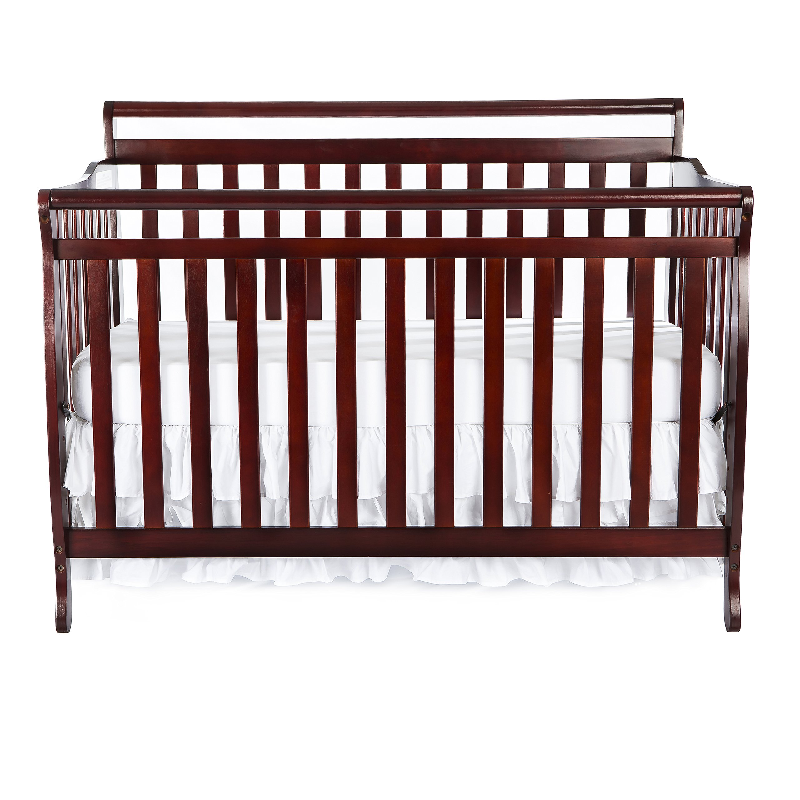 Dream On Me Liberty 5-in-1 Convertible Crib, Cherry by Dream On Me