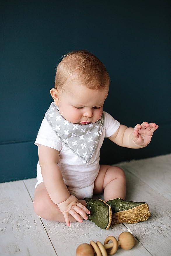 Baby Boys Copper Pearl 4-Pack Bandana Bibs Accessories Shade Set X000TTXZZP
