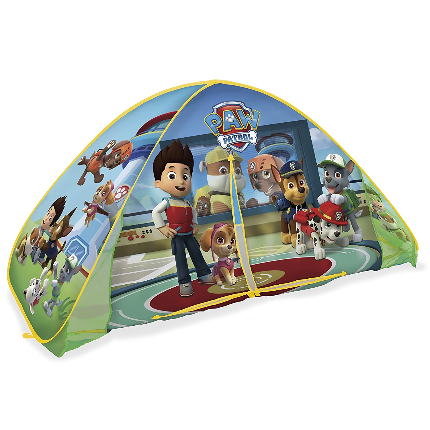 Playhut Paw Patrol 2-in-1 Bed Tent Playhouse