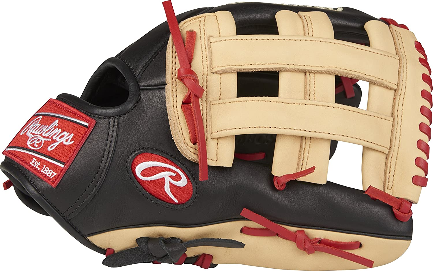 Rawlings GXLE204-4NG-0/3 Gamer XLE 11.5 Infield Glove, Grey