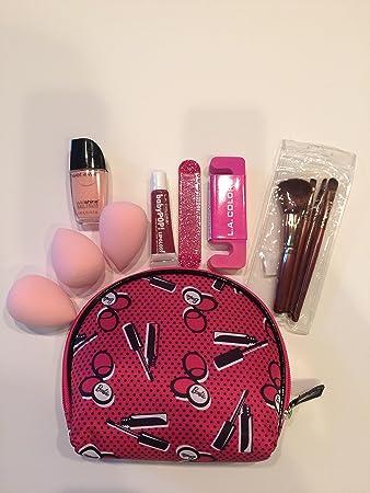 c0a2b140fff3 Amazon.com : Teen Makeup Kit Gift Set Barbie Cosmetic Bag Lip Gloss ...