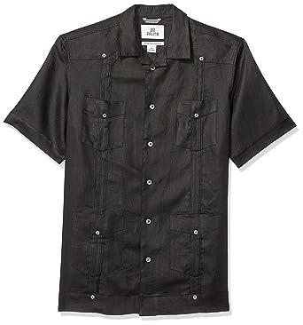 1d322d99cf5 Amazon.com  Amazon Brand - 28 Palms Men s Relaxed-Fit Short-Sleeve ...