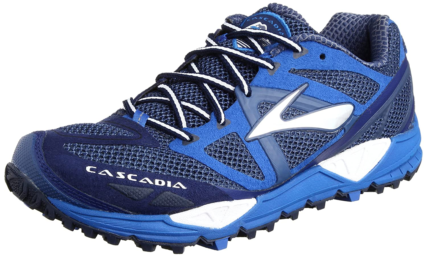 c72f14b01f3a6 Brooks Men s Cascadia 9 Running Shoes 1101601D470 Sodalite Blue Electric Medieval  Blue 6 UK