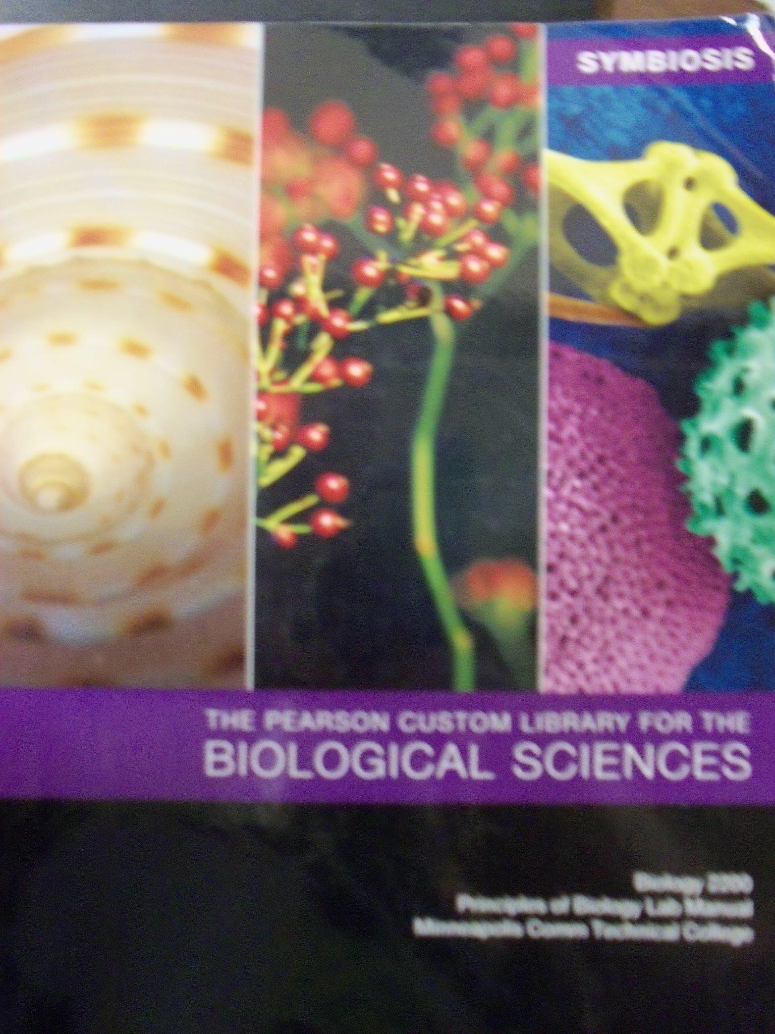 symbiosis the pearson custom library for the biological sciences rh amazon com Doris Pearson 5 Star Pearson Education Logo