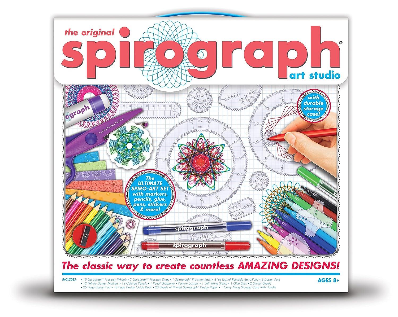 Kahootz 159598 Spirograph Art Studio Set, Multicoloured, 5.08 x 38.1 x 36.83 cm Notions Marketing 01071