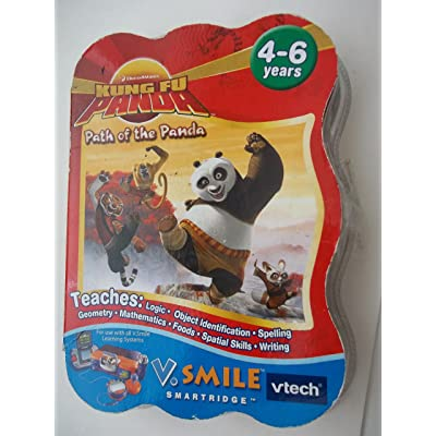 Vtech V.smile Kung Fu Panda Game: Toys & Games