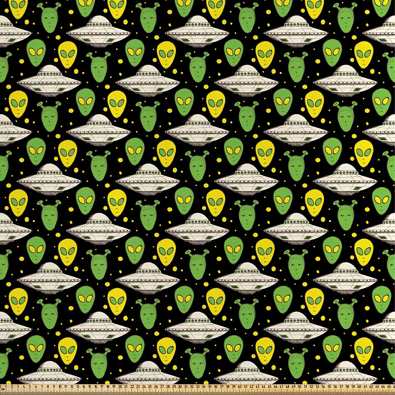 ABAKUHAUS Extraterrestre Tela por Metro, Retrato Ovnı Naves ...