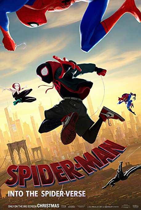 Image result for Spider-Man: Into the Spider-Verse  poster