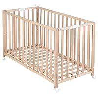 roba Klappbett 'Fold Up', Babybett 60x120 cm, verschiedene Varianten erhätlich