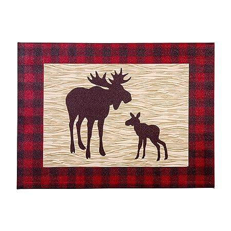 Trend Lab Northwoods Moose Canvas Wall Art