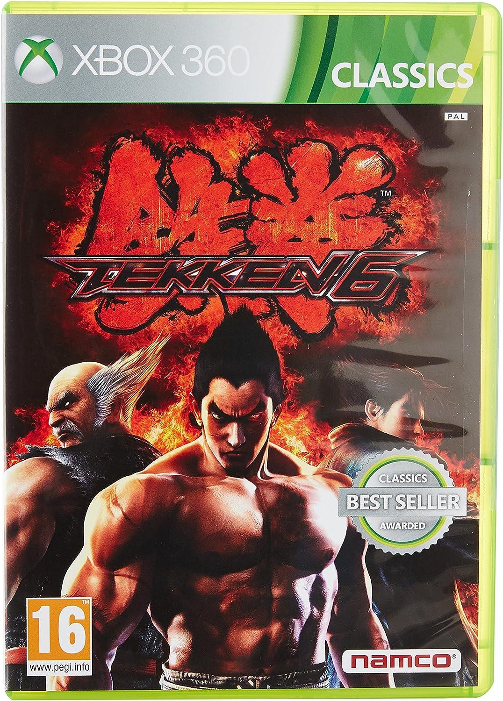 Tekken 6 Classics Xbox 360 Amazon Co Uk Pc Video Games