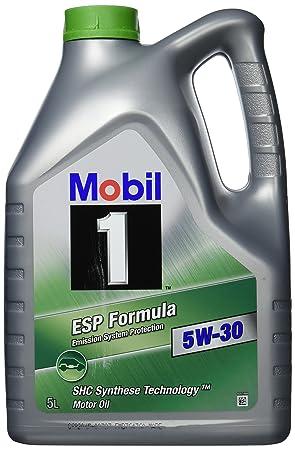 Mobil 1 Móvil 40112 ESP Formula 5 W de 30 5 l Plus 1 L: Amazon.es: Coche y moto