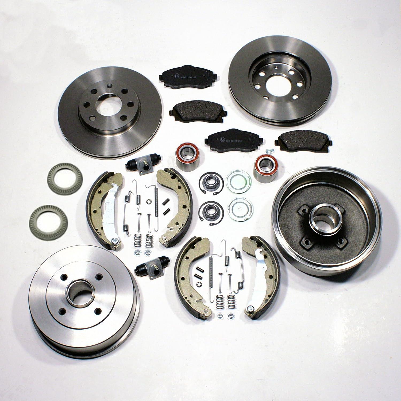 Bremsscheiben Bremsen Bremsbeläge Bremstrommel Set Für Vorne Hinten Auto