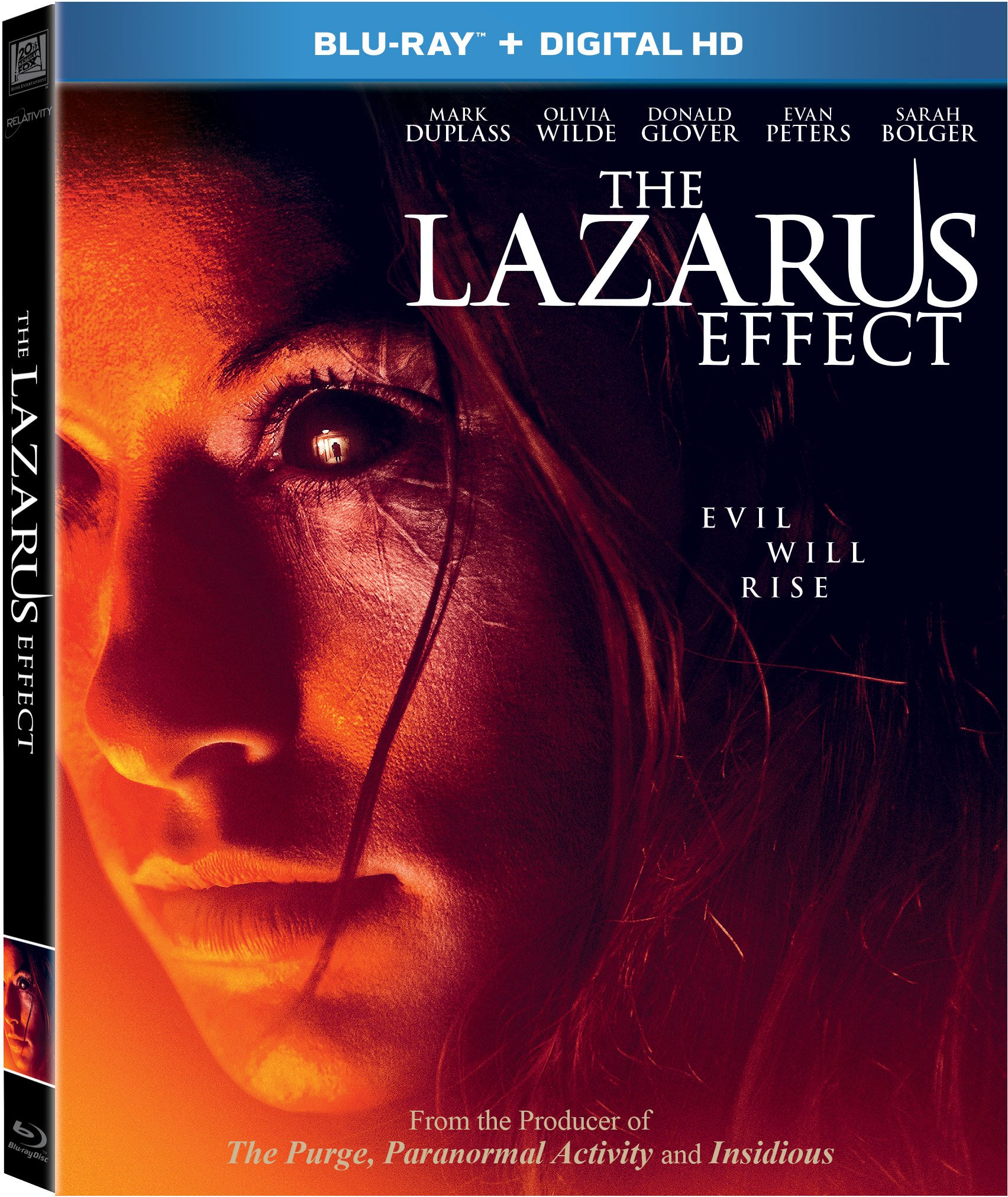Blu-ray : The Lazarus Effect (Digital Theater System, Digitally Mastered in HD, Widescreen, )