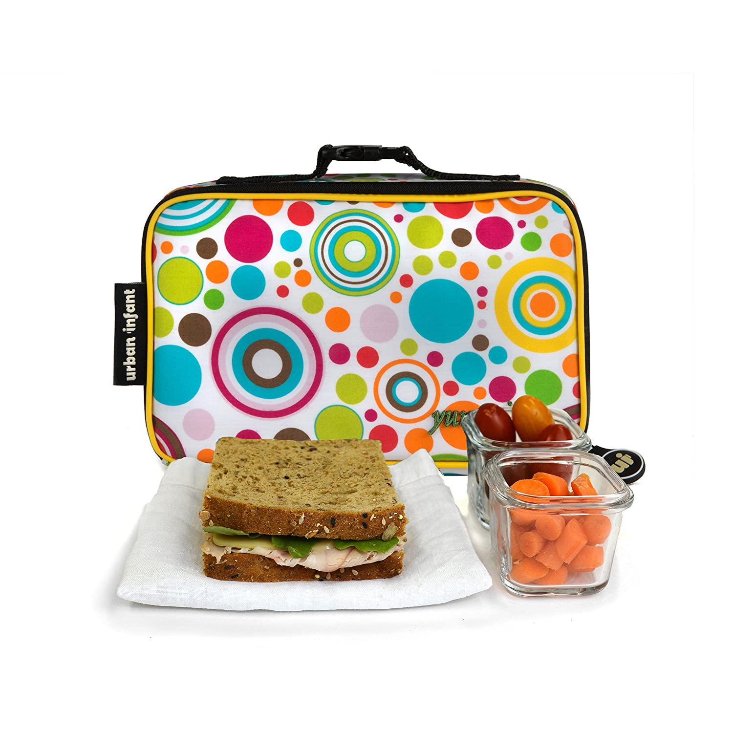 Urban Infant Yummie Lunch Bag with Allergy Alert Cards Submarines