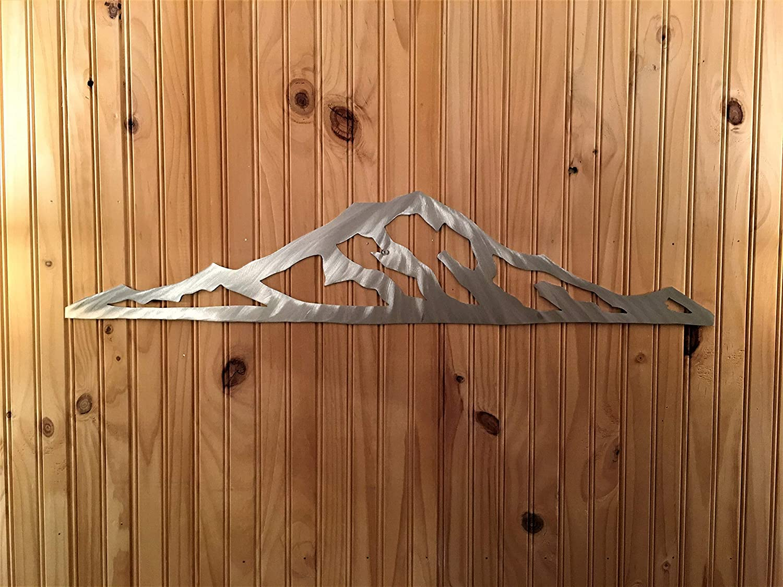 Handmade Products Mount Rainier Metal Wall Art Seattle ...
