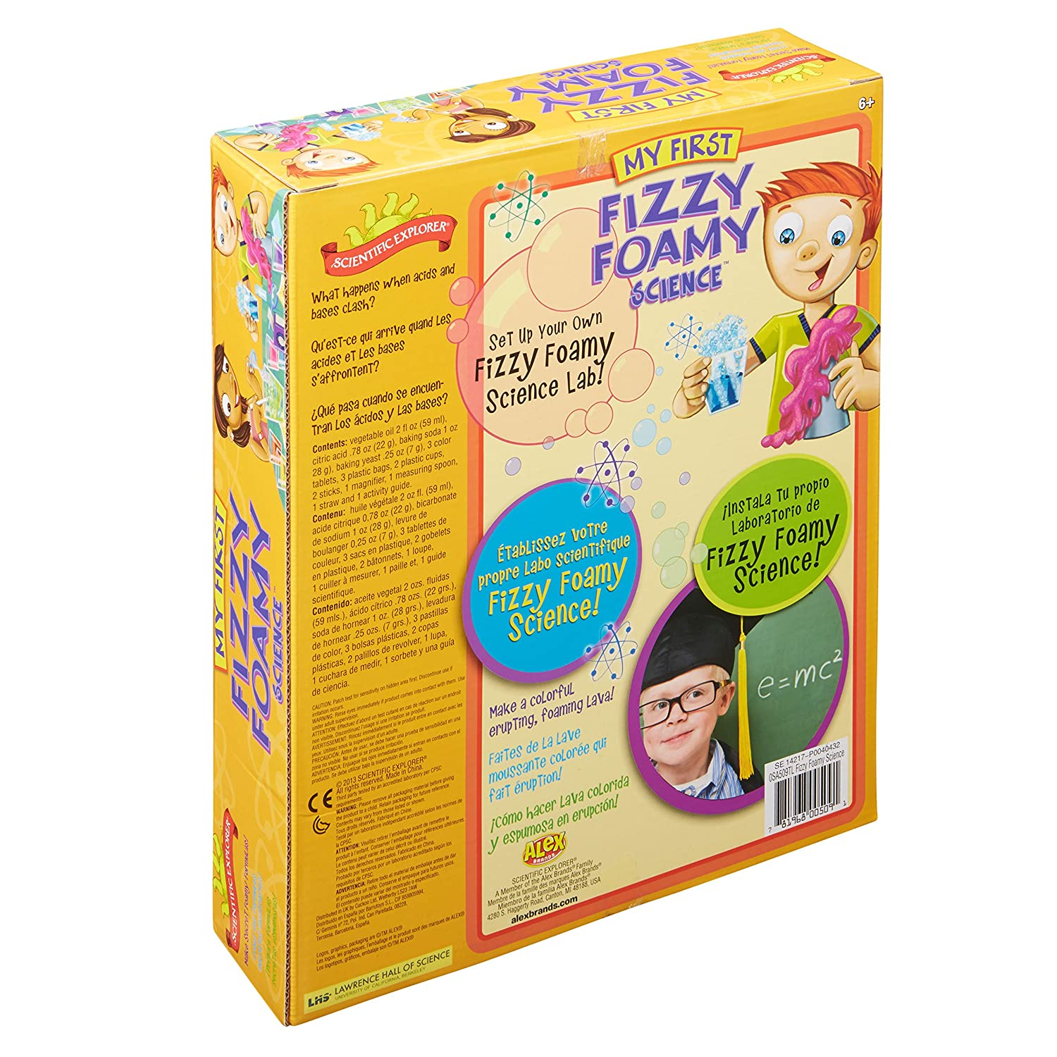 Amazon Scientific Explorer My First Fizzy Foamy Science Kit