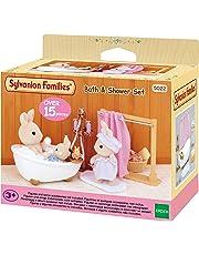 SYLVANIAN FAMILIES Bath & Shower Set Mini muñecas y Accesorios Epoch para Imaginar 3562