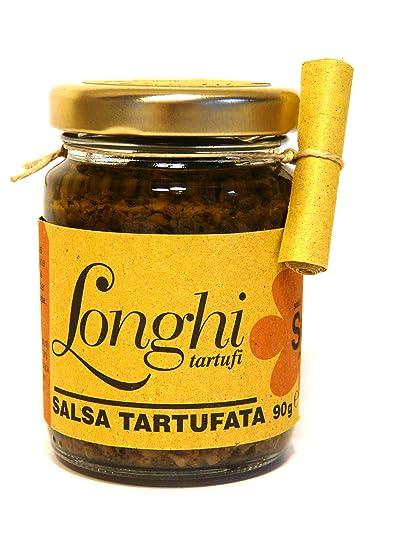 Salsa de setas y trufa negra - Tartufata 90gr
