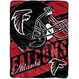 Officially Licensed NFL 'Deep Slant' Micro Raschel Throw Blanket, 46' x 60', Multi Color