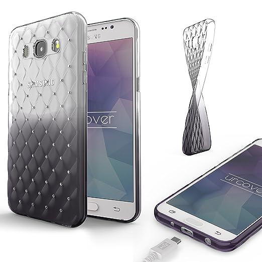 2 opinioni per Urcover Custodia Brillantini 3D Glitter Samsung Galaxy J7 2016 | Cover con