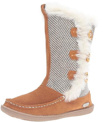 Woolrich Women's Elk Creek Winter Boot, Herringbone Wool, ...