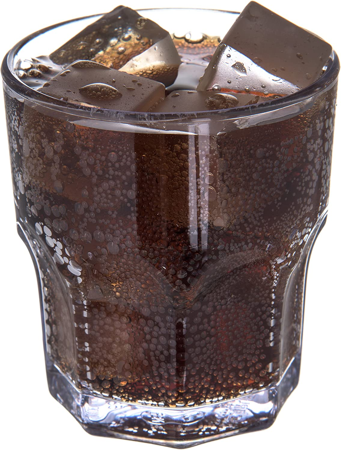 3.38 Height Dinex DX580807 Louis Shatterproof Tumbler Pack of 72 2.25 Length Clear 2.25 Width 8 oz SAN