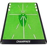 Champkey Tracker-PRO Impact Golf Hitting Mat | Analysis Swing Path and Correct Hitting Posture Golf Practice Mat | Advanced G
