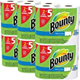 Bounty Select-a-Size Paper Towels fMMwQb, White, Huge Roll, 24 Count