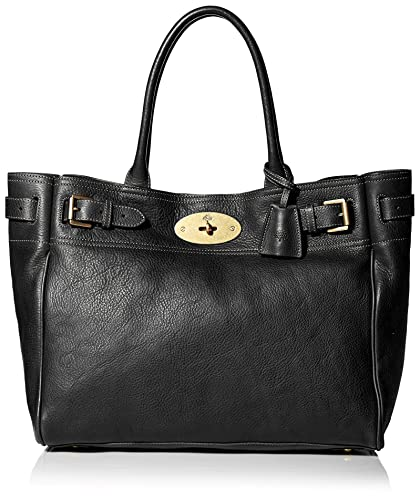 0c6949ce8c Mulberry Women's Bayswater Tote Bag in Black/Brass: Amazon.in: Shoes ...