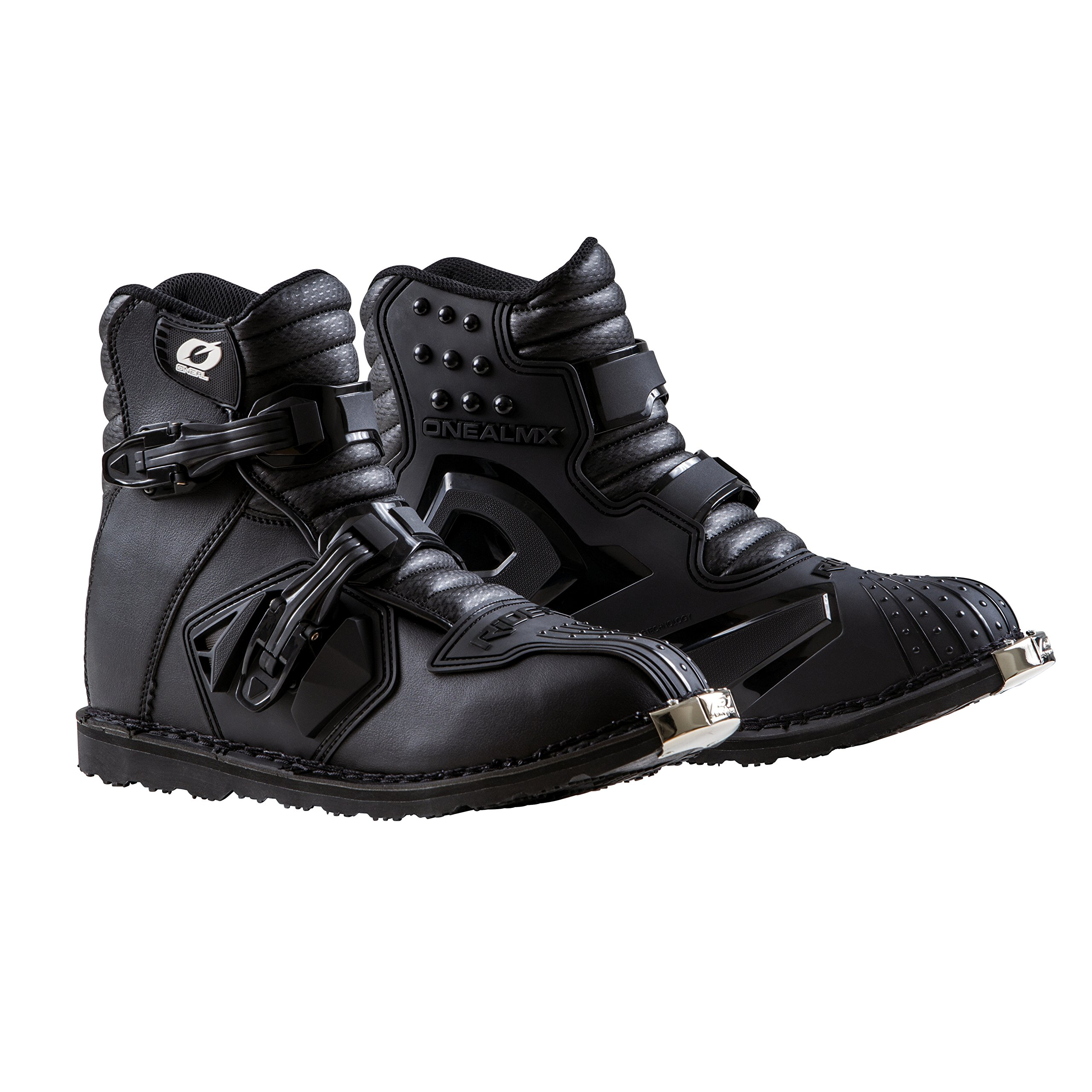 O'Neal 0344-011 Unisex-Adult Rider Shorty Boot (Black, Size 11)
