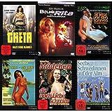 Sexy Classic JESS FRANCO & ERWIN C. DIETRICH Erotik Kultfilme Collection GRETA - HAUS OHNE MÄNNER + BLUE RITA - DAS FRAUENHAUS + DIE HEISSE LIEBE EINES SOMMERS + NACH IBIZA - DER LIEBE WEGEN + MÄDCHEN DIE NACH LIEBE SCHREIEN + SECHS SCHWEDINNEN AUF DER ALM 6 DVD Edition