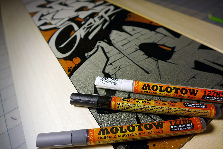 Molotow 200152 Kit 1 De 20 Marqueurs ONE4ALL 127HS: Amazon.fr: Fournitures  De Bureau
