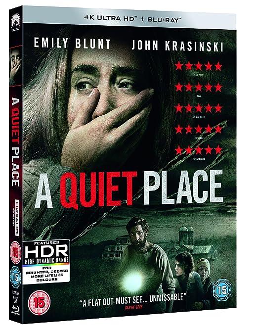 A Quiet Place 4K Uhd 2 Blu-Ray Edizione: Regno Unito Italia ...