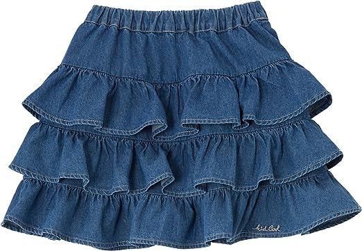 Kid Cool - Falda para niña, talla 12 años (12 años), color azul ...